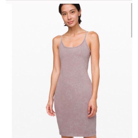 lululemon athletica Dresses & Skirts - Lululemon Built in Bra Inner Glow Dress